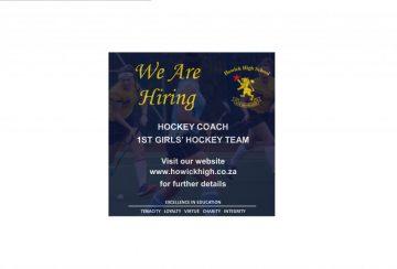 We are hiring girls hockey coach B